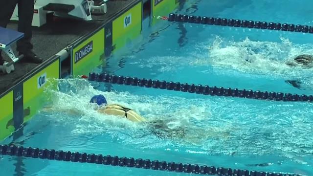 Neue Swimming League begeistert: Ledecky verpasst Kurzbahnweltrekord nur knapp