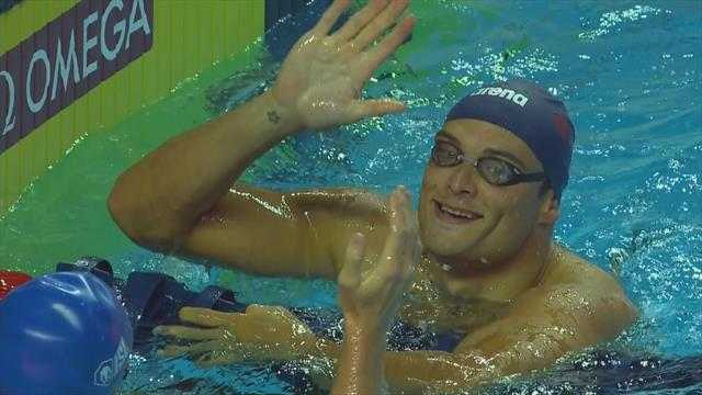 Ben Proud edged out by team-mate Florent Manaudou in skins race