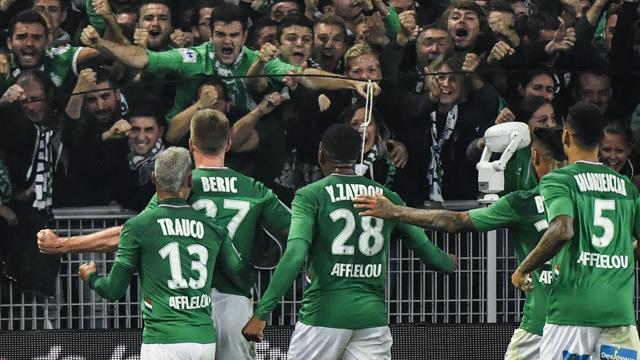 St. Etienne a câștigat derby-ul cu Lyon grație unui gol marcat în minutul 90