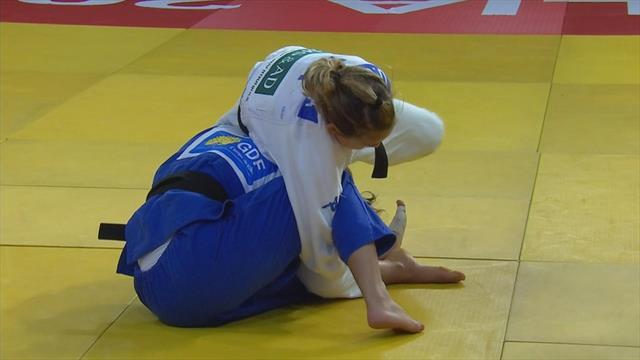 Judo Grand Slam Brasilia: Odette Giuffrida vince la medaglia d'oro nei -52kg