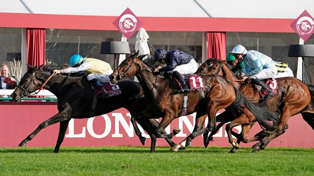 Villa Marina wins Prix de l'Opera Longines at ParisLongchamp