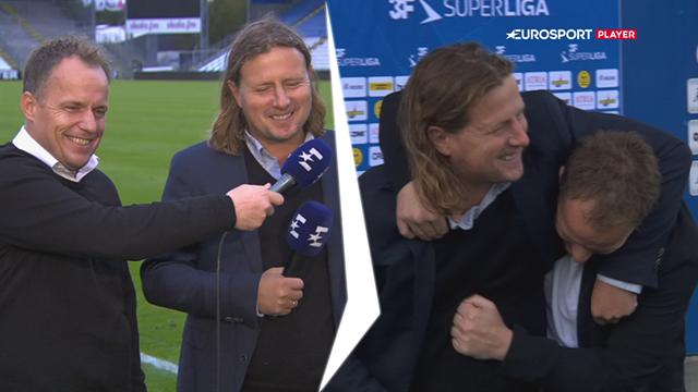 Best of best friends: Kavalkade af sjove klip, hvor Bo Henriksen og Jakob Michelsen roser hinanden