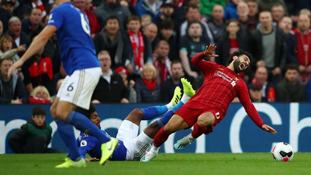Aufatmen in Liverpool - Salah nach Horror-Foul offenbar nur leicht verletzt