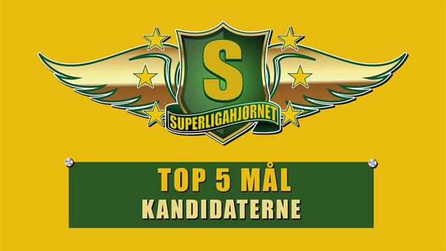 SuperligaHjørnets Top 5: Bedste Superligamål 19/20