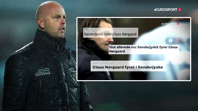 Kaos, forvirring og fyring: Se vores tilbageblik på Claus Nørgaards SønderjyskE-exit