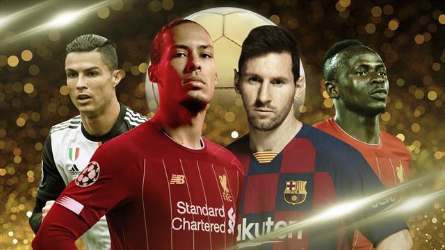 Ballon d'Or live: Van Dijk, Aguero, Lloris among nominees, Cristiano on shortlist
