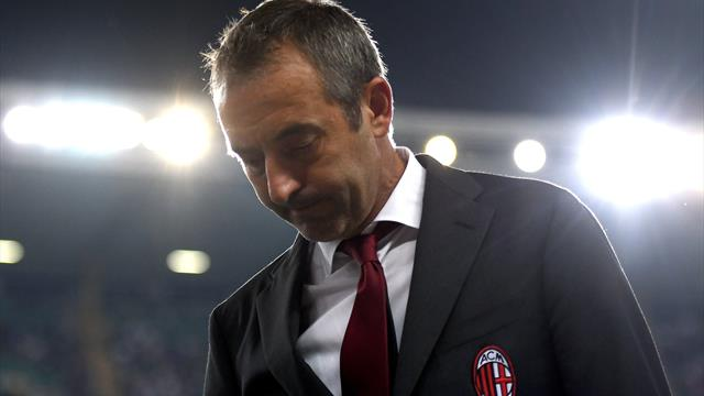 AC Milan release statement as coach Giampaolo is sacked after dismal start