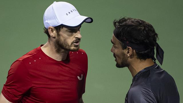 'I'm not having him talk to me like that' - Murray still fuming over Fognini spat