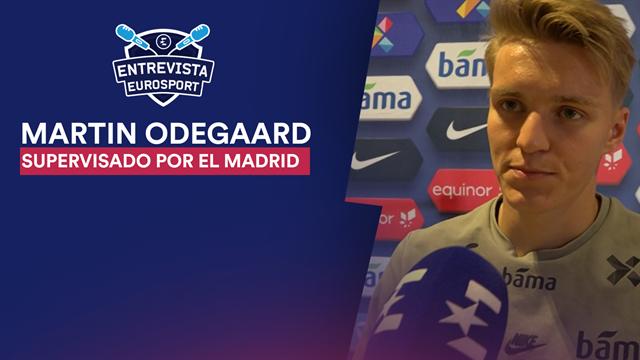 """Odegaard, en Eurosport: """"Tengo contacto con el Real Madrid, me han felicitado y están contentos"""""""