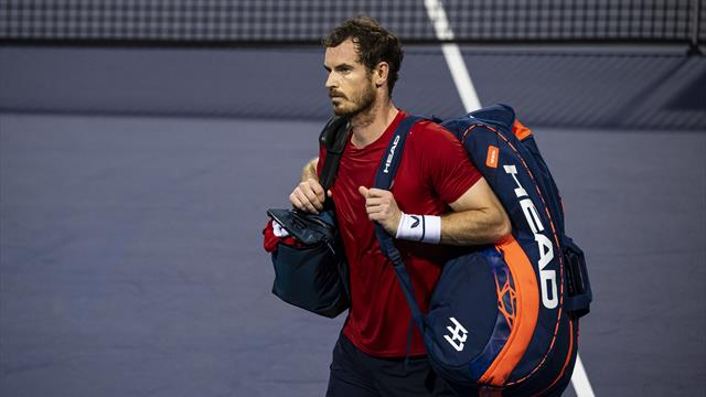 Murray falls short in fiery encounter with Fognini