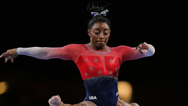 SUA, cu Simone Biles într-o formă fantastică, a cucerit aurul la Mondiale. Surpriză enormă pe podium