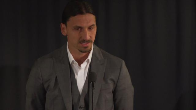 Zlatan: This statue is for all the people who don't feel they fit in