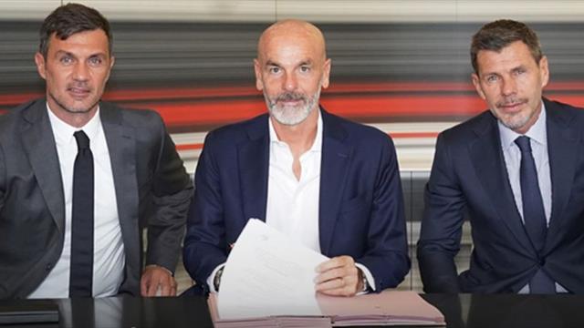 Stefano Pioli este noul antrenor al lui AC Milan