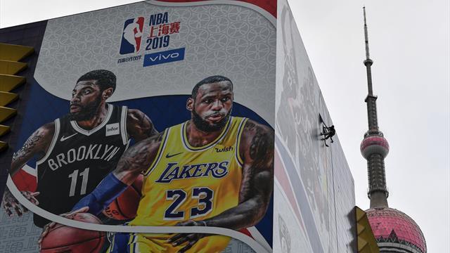 Plakate an der Arena entfernt: NBA-Testspiele in China vor der Absage
