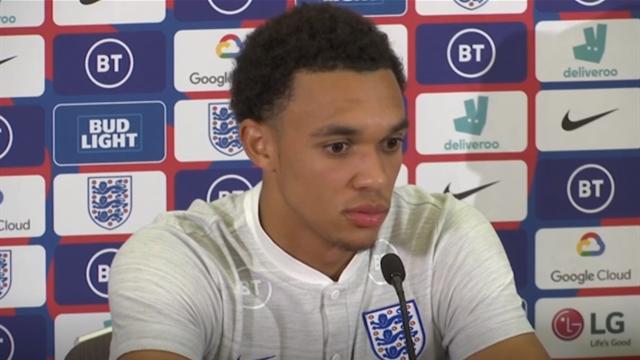 'Same joy for Liverpool and England wins' - Alexander-Arnold