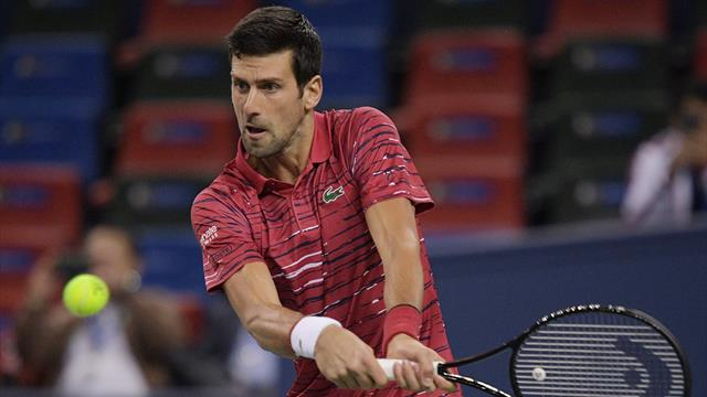 Redoutable au service et diabolique de précision au passing : Djokovic a envoyé un message d'entrée