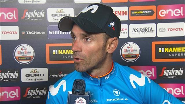 """Valverde, optimista para Lombardía: """"Creo que estoy muy bien"""""""