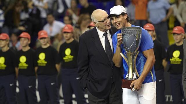 """Nadal: """"Uno de los pioneros del tenis en España y un gran deportista"""""""