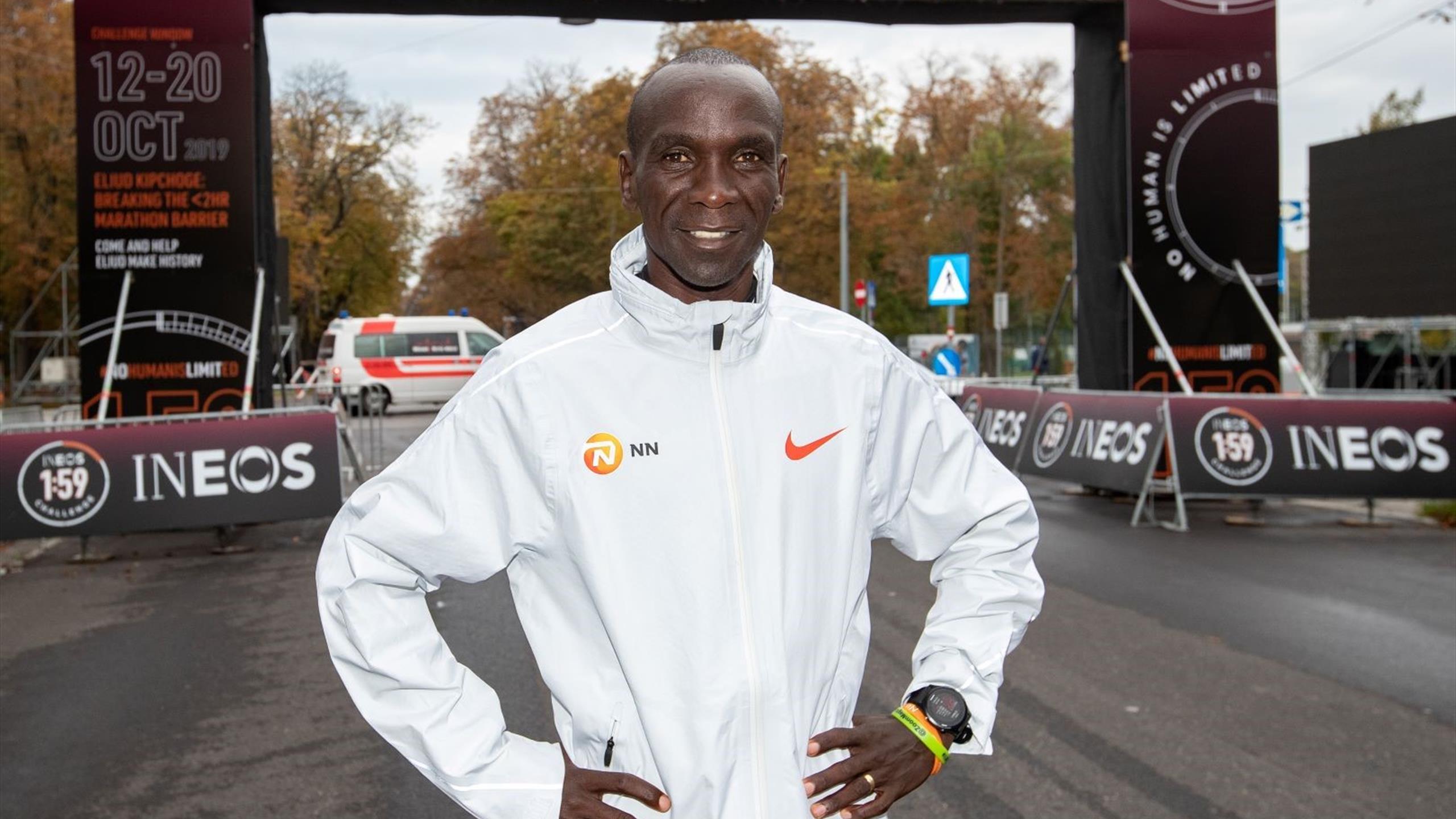 Así será el intento de Kipchoge de correr una maratón en