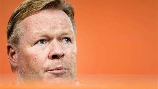 Koeman, decepcionado con la poca intensidad de Holanda en los entrenamientos