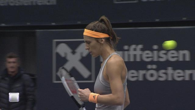 WTA Linz Highlights: Petkovic defeats fifth seed Goerges in Linz
