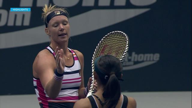 WTA Linz: Bertens no se arruga ante Doi