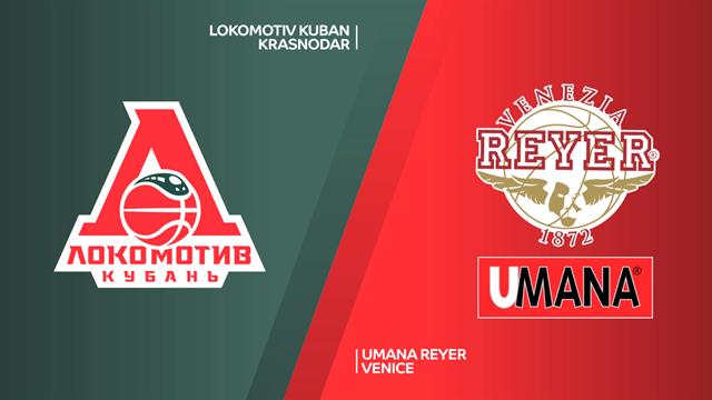 Highlights: Lokomotiv Kuban Krasnodar-Umana Reyer Venezia 77-63