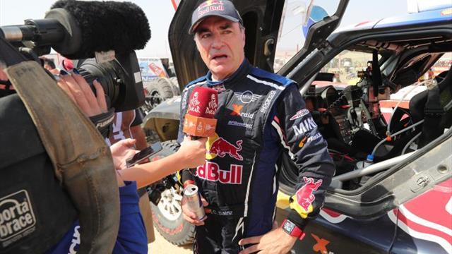 Carlos Sainz no pudo con De Villiers y queda segundo en el Rally de Marruecos