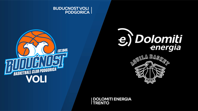 Highlights: Buducnost Voli Podgorica-Dolomiti Energia Trento 68-77