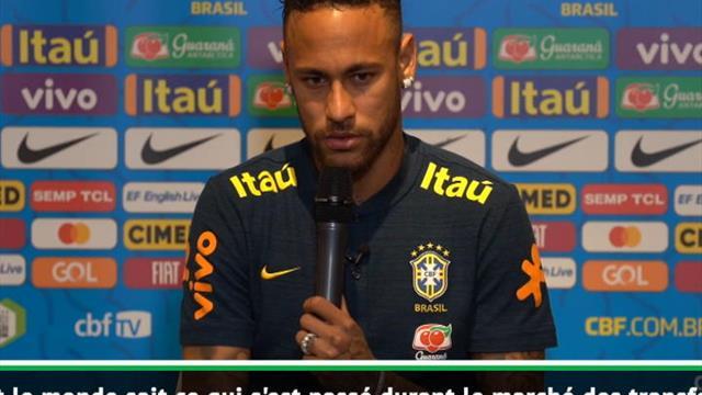 """Neymar : """"Je me sens heureux et à l'aise au PSG"""""""