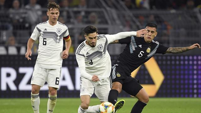DFB-Team gibt Sieg gegen Argentinien aus der Hand