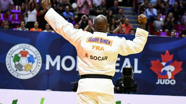 Riner maintains mammoth unbeaten run with gold at IJF Grand Prix in Brasilia
