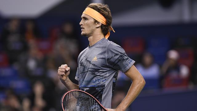 Zverev écarte Rublev et rejoint Federer