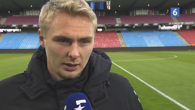 Victor Nelsson roser sin u-21-målmand: Han er en super dygtig keeper