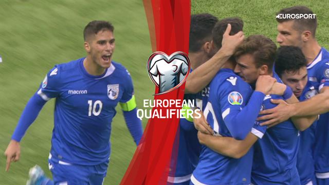 Highlights: Pieros-scoring startede cypriotisk comeback i Kasakhstan