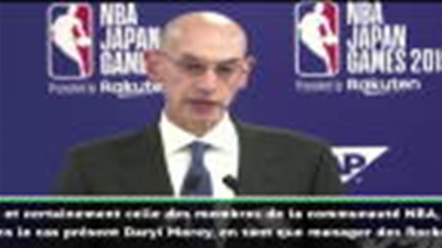 Tweet polémique - Le patron de la NBA au soutien de Morey