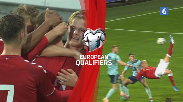 Highlights: Fantastisk Odgaard-saksespark redder tre point til de danske U21-drenge