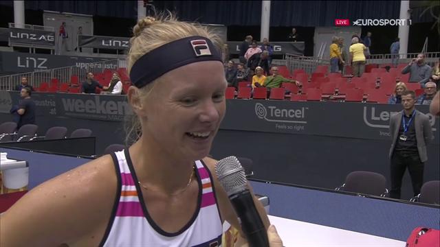WTA Linz   Kiki Bertens kijkt uit naar duel met Coco Gauff