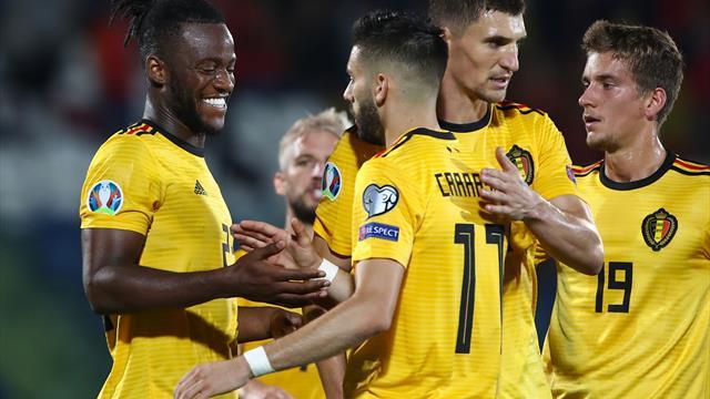 Nach Schützenfest: Belgien als erstes Team für die EM qualifiziert