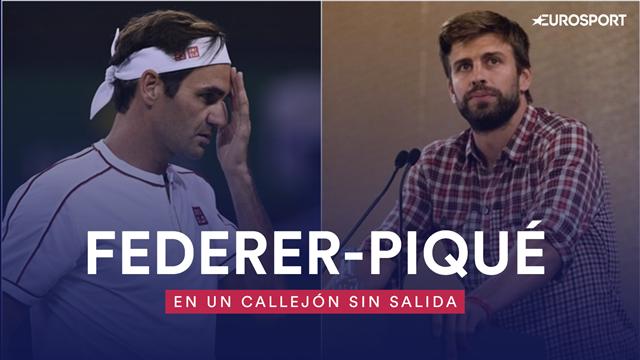 Federer y Piqué, historia de un 'toma y daca' constante por la Copa Davis