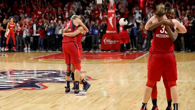 Washington erstmals WNBA-Champion - Wagner gratuliert
