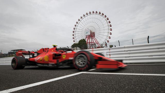 F1 cancels all Saturday running at Japan GP due to Typhoon Hagibis