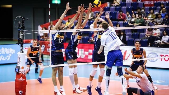 Italia-Russia 1-3, quarta sconfitta degli azzurri e brutto ko