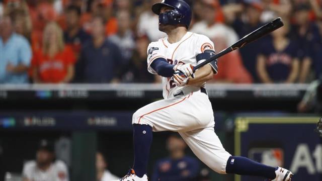Altuve fue la figura de la ofensiva de los Astros y establece nueva marca