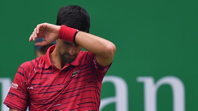 Sauf changement de programme, Djokovic ne sera plus N°1 mondial au lendemain de Bercy
