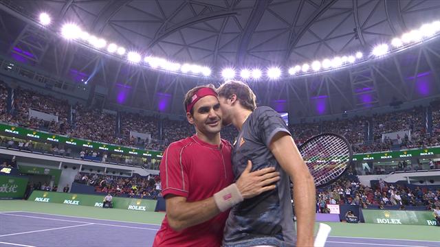 Face aux montagnes russes de Federer, Zverev a répondu par une solidité à toute épreuve