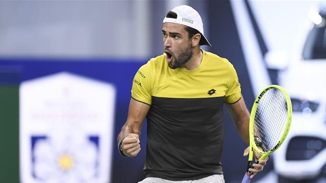 Berrettini in semifinale contro Zverev, la top 10 è vicina — ATP Shanghai