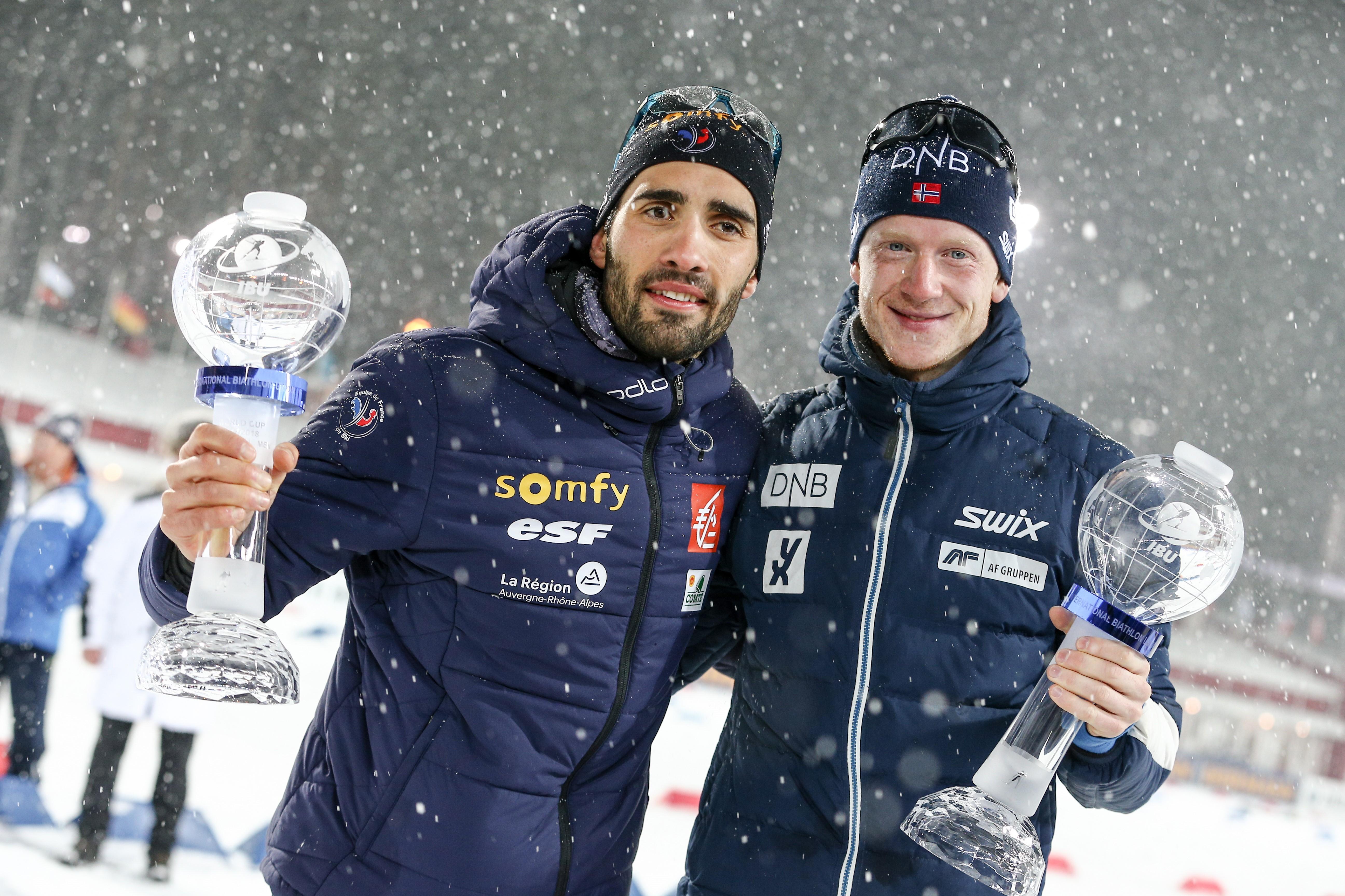 Martin Fourcade ve Johannes Thingnes Boe