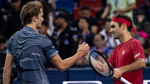 Zverev scalps agitated Federer in Shanghai