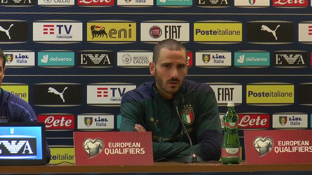"""Bonucci: """"Vogliamo raggiungere l'Europeo per regalare una gioia ai tifosi"""""""